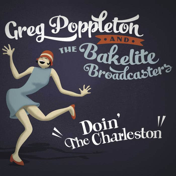 Doin' The Charleston by Greg Poppleton (album art)